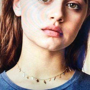 Urban Outfitters In The Stars Icon Necklace